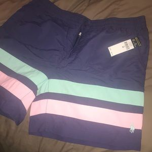 Brand New Mens Polo Ralph Lauren Swim Trunks